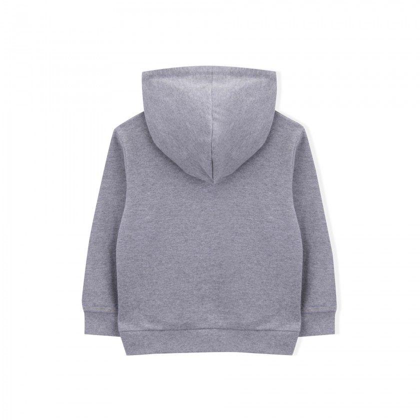 Sweatshirt menino algodão orgânico Yamato