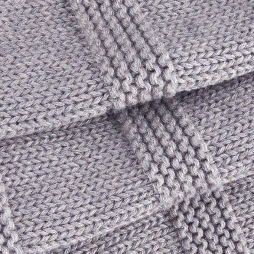 Manta recém-nascido tricot Aito