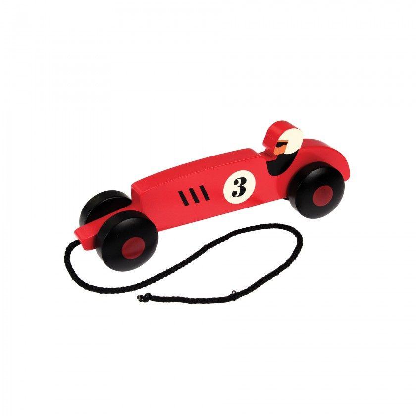 Brinquedo madeira carro corrida
