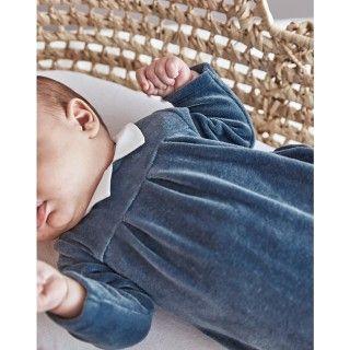 Babygrow newborn velvet Hibiki