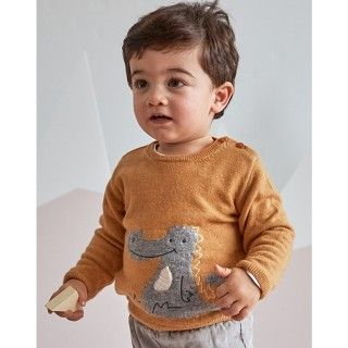 Sweater baby tricot Doragon