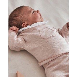 Camisola recém-nascido tricot Ayame