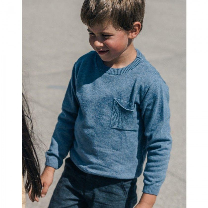 Camisola menino lã Tadao