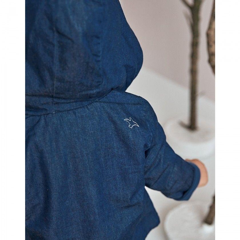Baby coat denim Koto