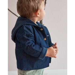 Baby coat denim Koto