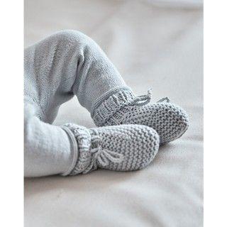Newborn tricot shoes Yoshi