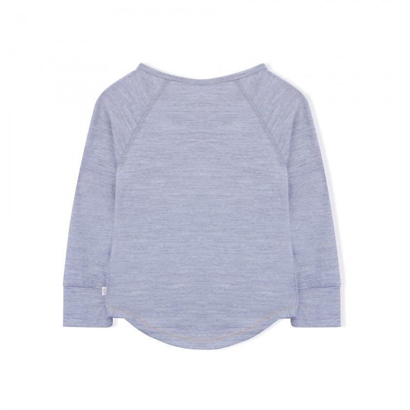 Camisola manga comprida Lã Merino