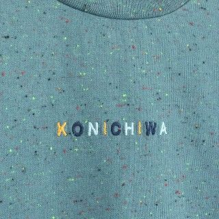 Sweatshirt menino algodão Konichiwa