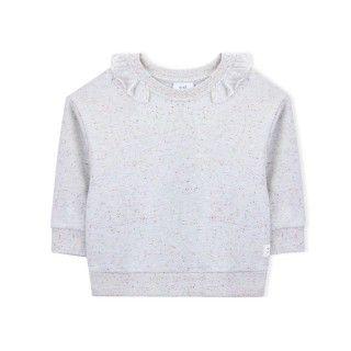 Sweatshirt menina algodão Katsushika