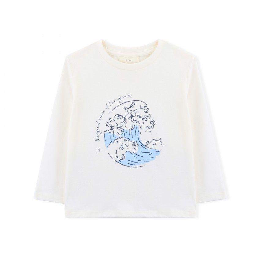 Boy long sleeve t-shirt cotton Kanagawa
