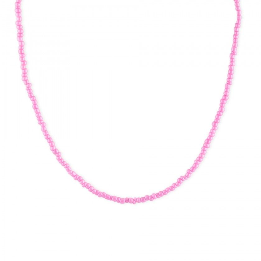 Beaded beads necklace