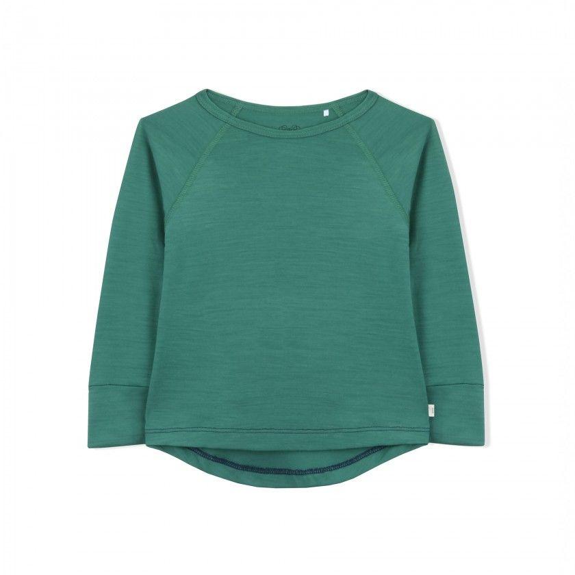 Long sleeve merino wool t-shirt