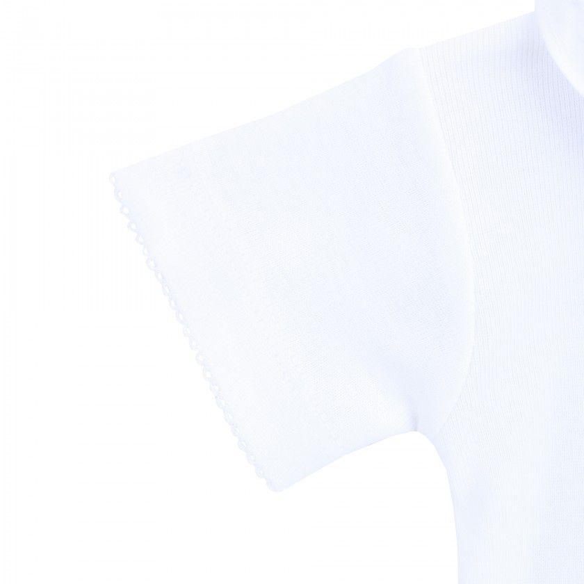 Body gola pierrot bord mg curta