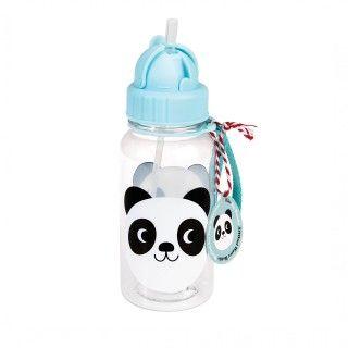 Garrafa de água Miko, o panda