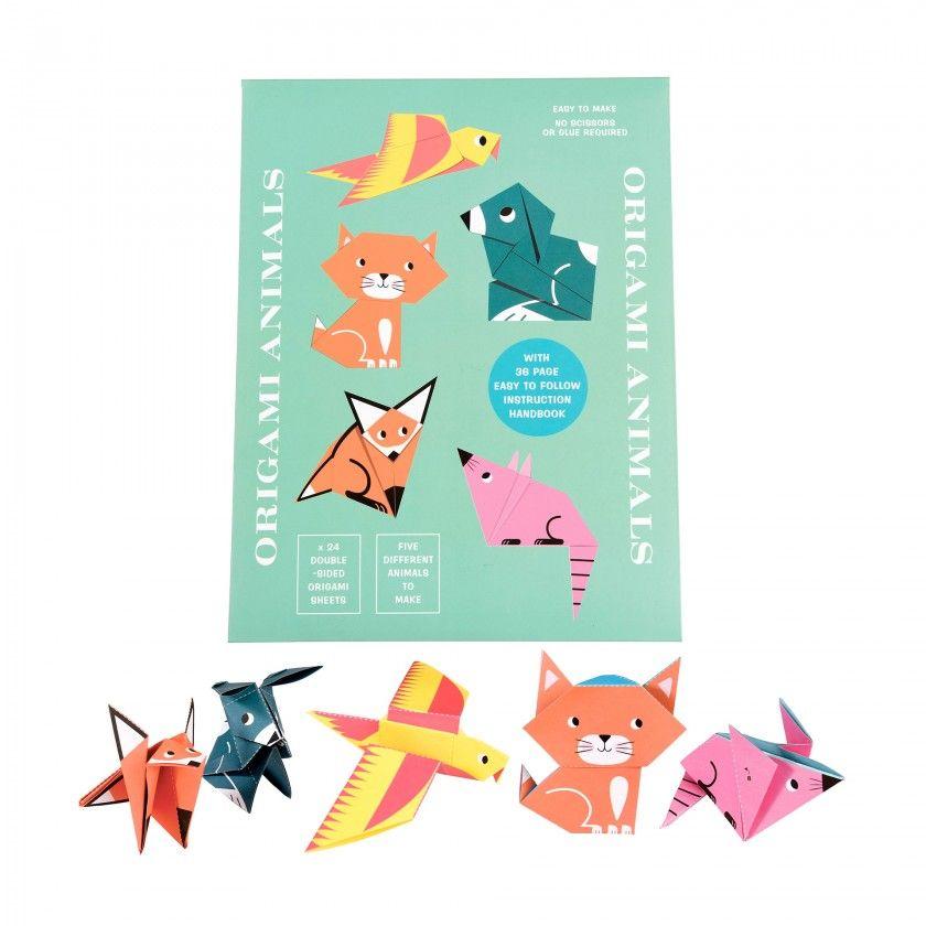 Kit origami animais