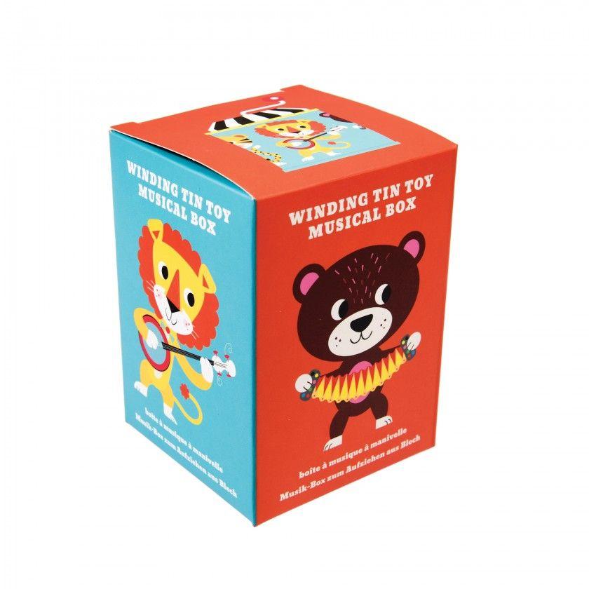 Animal Park Music Box