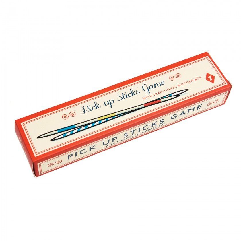 Wooden Pick Up Sticks Game