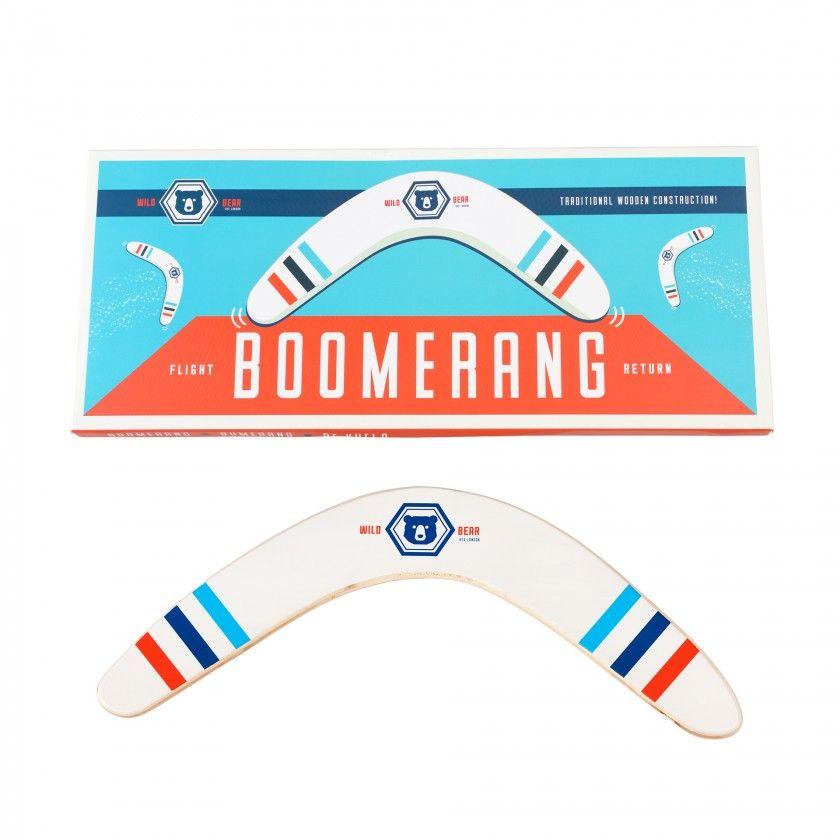 Boomerang em madeira, Urso selvagem