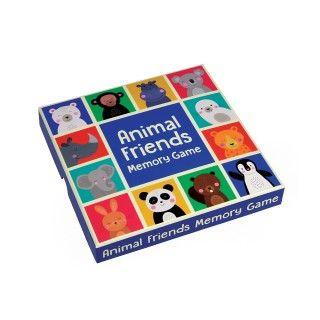 Jogo da memória, os amigos animais