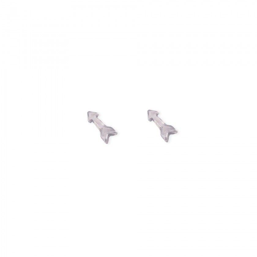 Brass arrow earrings