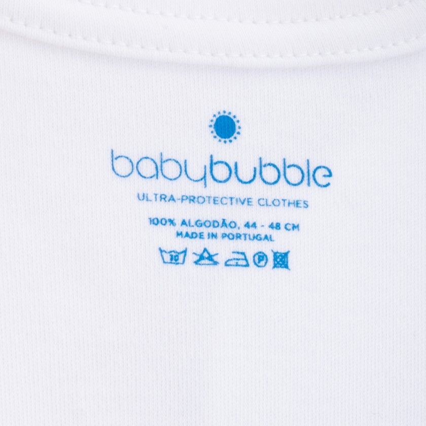 Babygrow recém-nascido algodão Babybubble