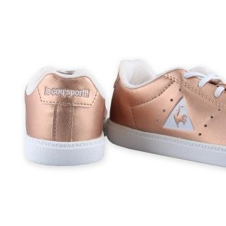 sneakers Le Coq rose gold