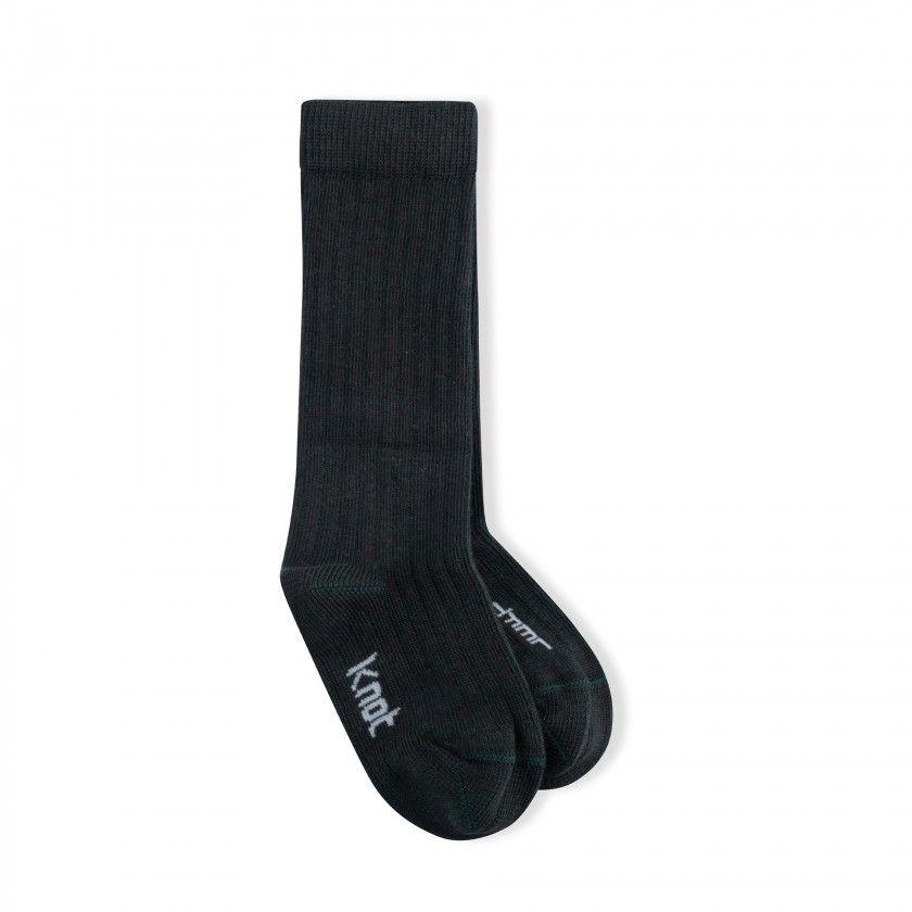 Ribbed knee socks