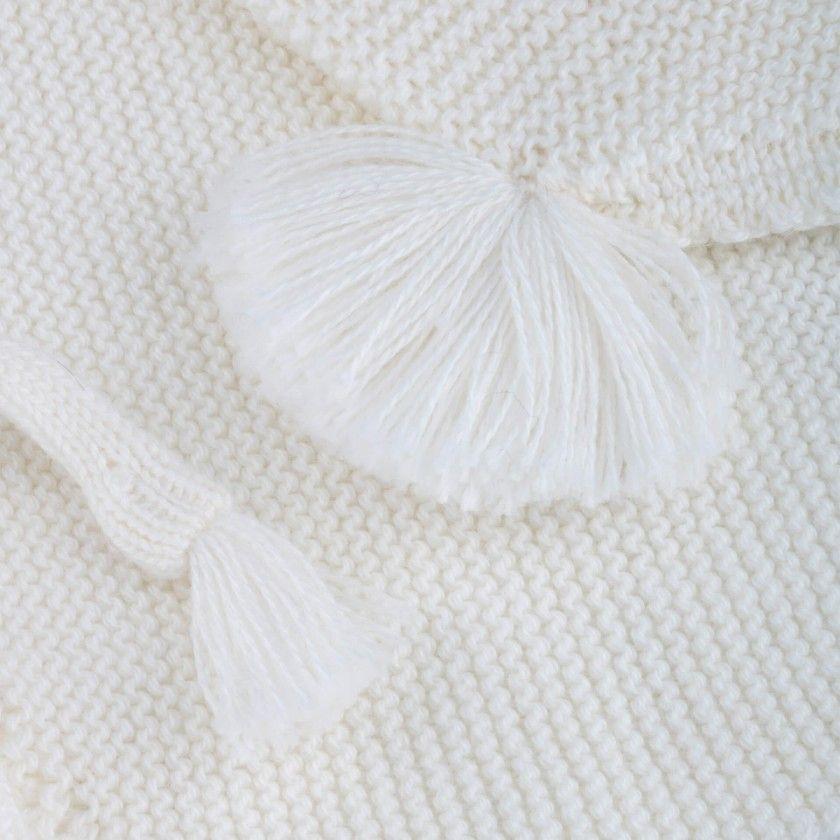 Touca recém-nascido tricot Etsuki