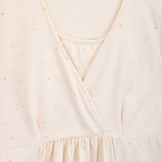 Camisa de amamentação algodão orgânico Shiki