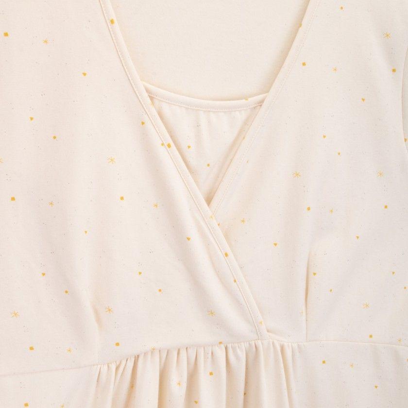Breastfeeding Shirt organic cotton Shiki