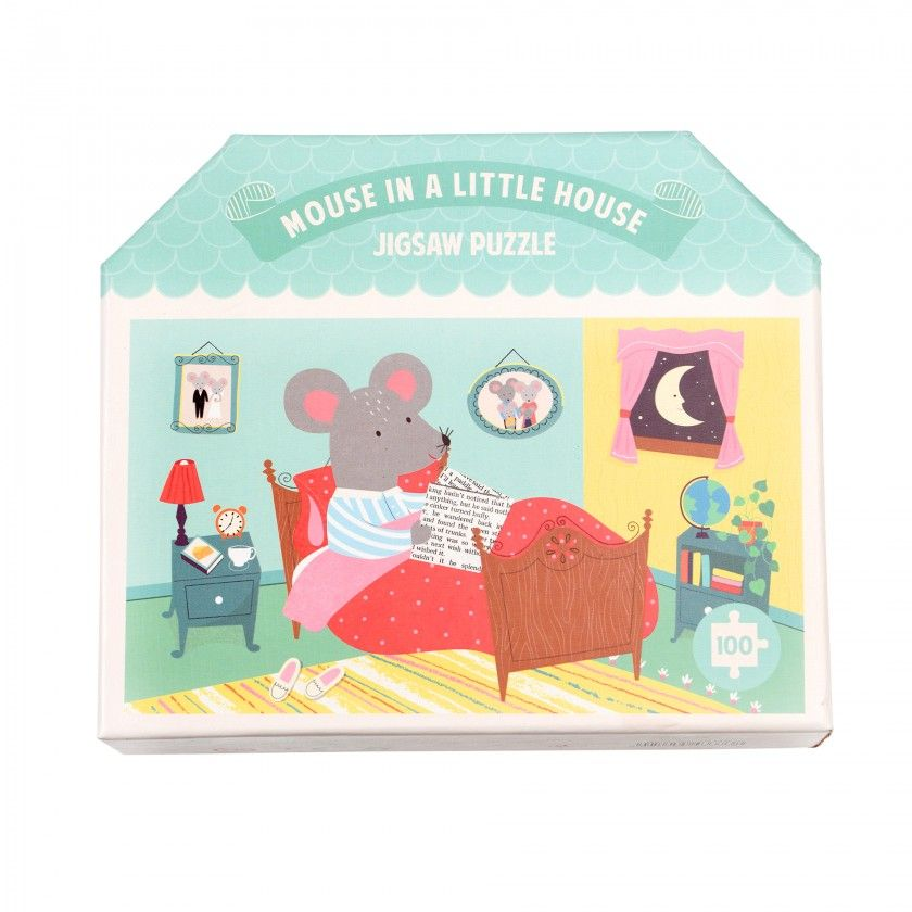 Mouse In A House Puzzle (100 Pcs)