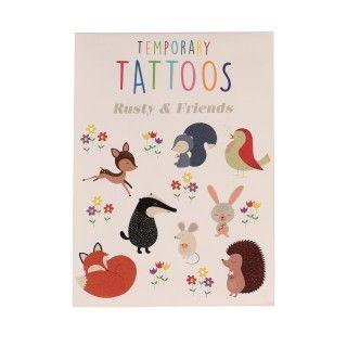 Tatuagens temporárias Rusty e os amigos