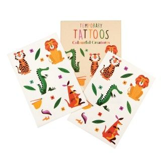 Tatuagens temporárias Criaturas Coloridas