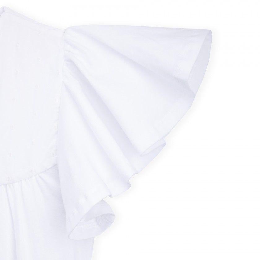 Camisa de amamentação algodão orgânico Shishi B