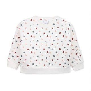 Sweatshirt menina algodão Koyo