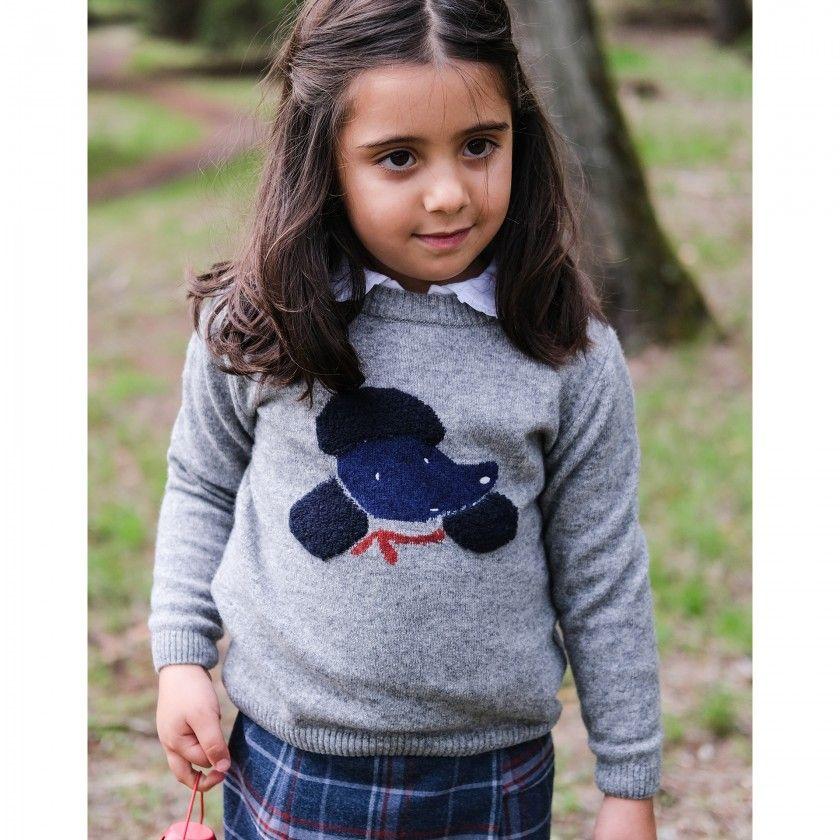 Camisola menina tricot Oli