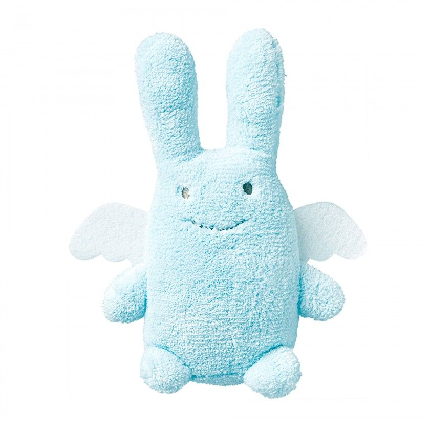 Peluche anjo Coelhinho azul