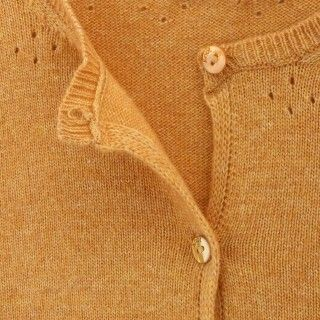 Casaco menina tricot Nyoko