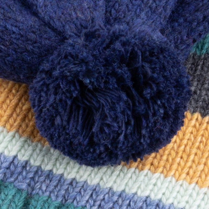 Gorro menino tricot Kishiro