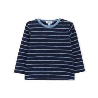 T-shirt manga comprida bebé algodão Kaede