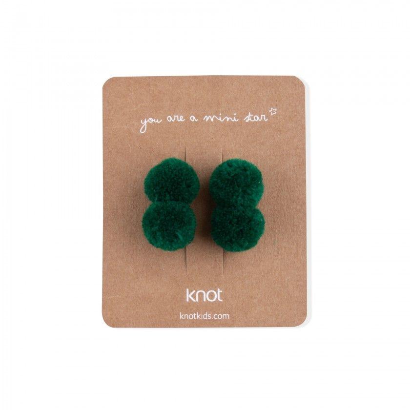 Pack de 2 elásticos com dois pompons
