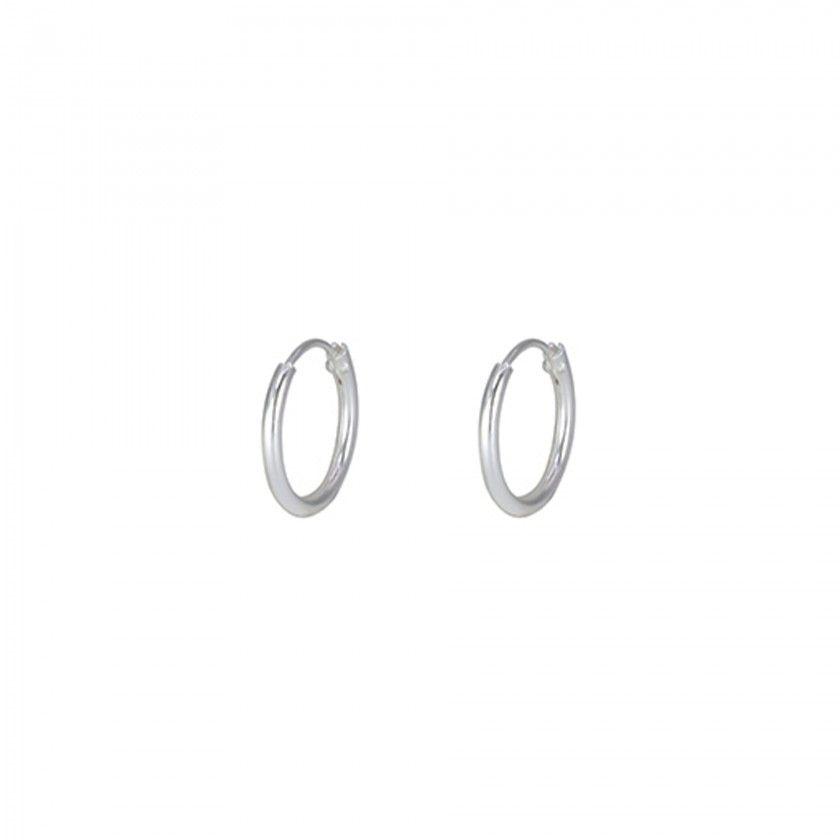 Argolas prata simples