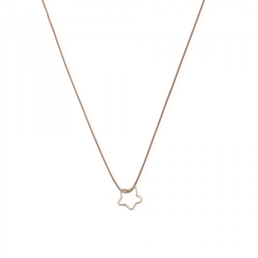 Star cord necklace