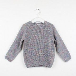Camisola tricot konfetti grey