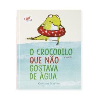 """Livro """"Crocodilo que não gostava de água"""""""
