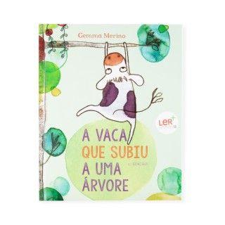 """Livro """"A vaca que subiu a uma árvore"""""""