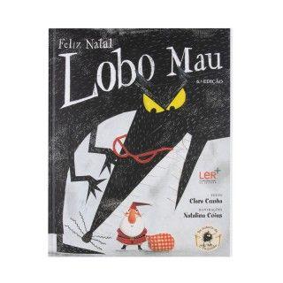 """Livro """"Feliz natal, Lobo mau"""""""