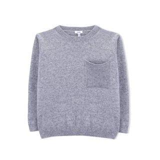 Sweater boy wool Tadao