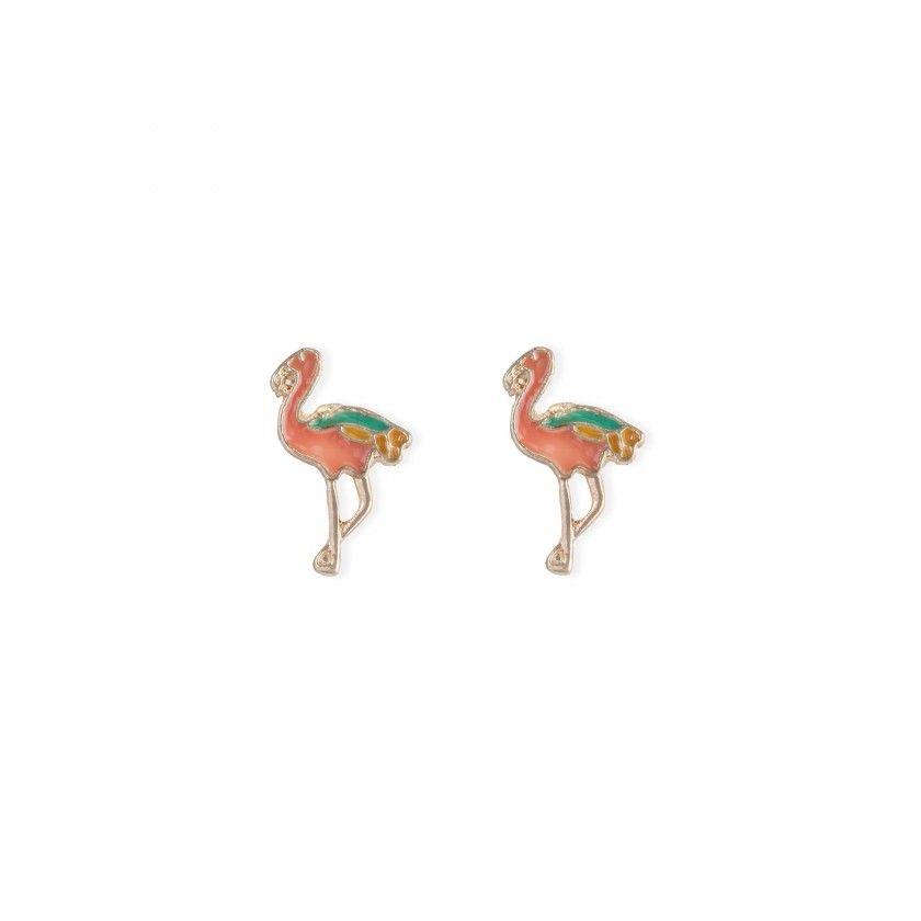 Brincos flamingo