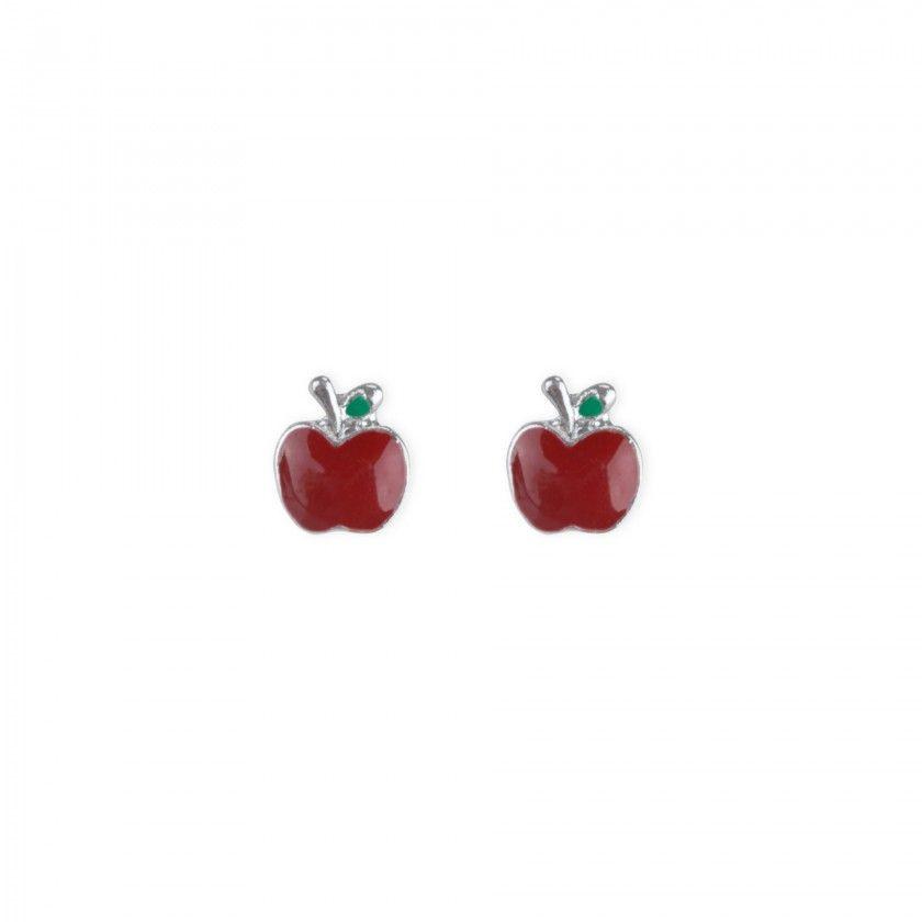 Brincos maçã